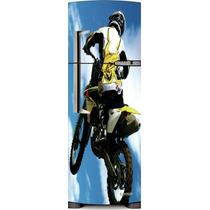 Adesivo Geladeira Motocross # 19 (porta Única)