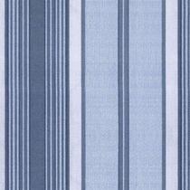 Papel De Parede - Listras - Azul - Classique