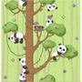 Papel De Parede Ursinho Bebe Panda Fofura 36- +otimopreco