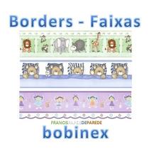Border Faixa Papel De Parede Bobinex Infantil Decorativa