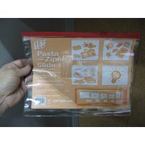 Envelope Plastico C/ziper Slide Com Porta Cartao (3) C/12un