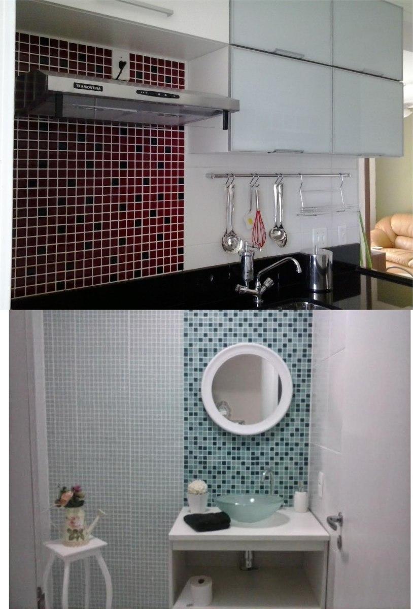 Azulejos Para Banheiro 2 Pictures to pin on Pinterest -> Decoracao De Banheiro Com Pastilha Adesiva