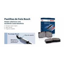 Pastilhas Freio Dianteira Nova Tracker 2014 2015 Bosch