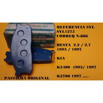 Pastilha Dianteira Original Kia Bongo K2400 K2700 Topic