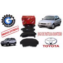 Pastilhas De Freio Toyota Corolla/rav4 99 Á 02-rcpt01500-trw