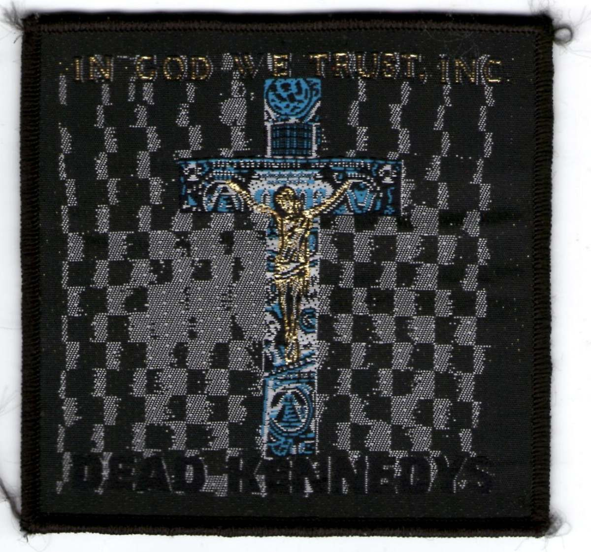patch tecido - dead kennedys - in god we trust inc importadoIn God We Trust Inc