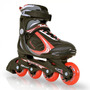 Roller Patins In Line - Faster Traxart - Vermelho