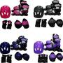 Patins Roller Ajustável Radical 36-39 C/kit Proteção