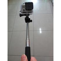Bastão Retrátil Monopod 97cm +tripod - P Camera Gopro Hero3