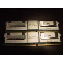 Memoria Ddr2 Ecc ,pc5300f, Kit 8 Gb, 2 Pentes De 4 Gb.hynix