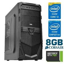 Computador Gamer Microxi3 - Gtx 750 - Intel I3 - 8gb - 500gb