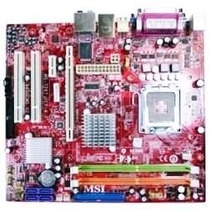 Placa Msi 775 Pos-mi945aa P/ Core2 +dual Core E 2200 Veja