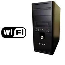 Pc Cpu Dual Core Hd 250gb Memoria Ram 4gb Dvd-rom + Wi-fi