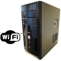 Cpu Dual Core 4gb Hd 500gb Wi-fi Dvd Rw Garantia 1 Ano Novo