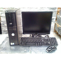 Cpu Dell Optiplex Dual Core Com Monitor 17 Completa