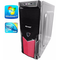 Cpu Gamer Core2duo - 2gb/hd250gb Com Wi-fi E Video Dedicado