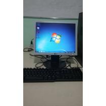 Computador Dual Core 2gb Ram 160hd Com Wifi E Monitor