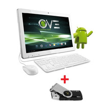 All In One Evo Aoc Dual Core 8gb Monitor 19,5 Pen Drive 16gb