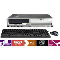 Cpu Mini Desktop Hp Compaq Dc7600 Hd 80gb 2gb Em12x S/ Juros