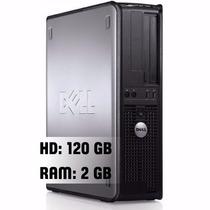 Dell Optiplex 780 Core 2 Duo E7800 3.1ghz 2gb Ddr3 120gb Hd