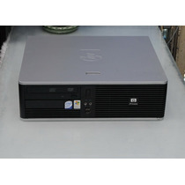 Cpu Hp Dc5800 Core 2 Duo 1 Gb Hd 80 + Monitor De 15 Lcd