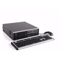 Pc Core 2 Duo Hp + 2 Gb Ram + Hd+ Teclado / Mouse Brinde