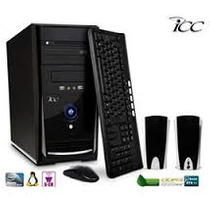 Computador Pc Icc Intel® Atom® (dual Core) D525, 2gb, Hd 250