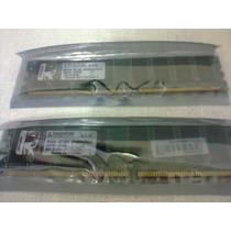 02 Memoria Kingston 512mb Ddr400 Pc3200 Total 1gb Genuina