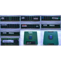Memórias Diversas 128/256/512mb Pc100/pc133/ddr266/ddr400 E+