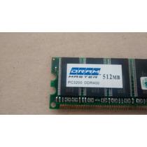 Memoria Dram Master 512mb Pc3200 Ddr400