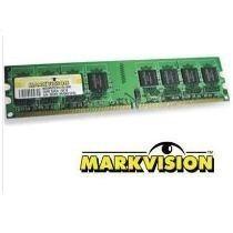 Memória Markvivion Ddr2 2gb 800mhz Cl6 Mvmt2gb28u Dx8c8-800