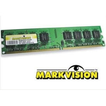 Memória Markvision 2gb 667mhz Ddr2 Pc5300