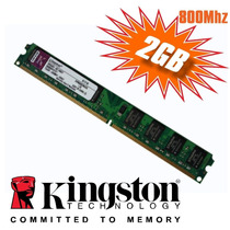 Memória Kingston Ddr2 2gb 800mhz