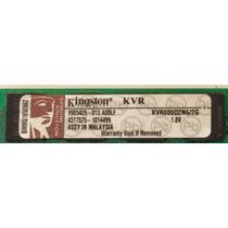Memória Ram Kingston 2 Gb Ddr2 800mhz Kvr800d2n6 Para Pc