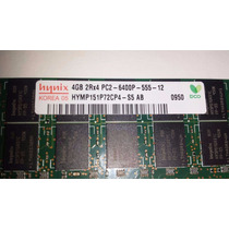 Modulo 4gb Ddr2 Pc2-6400p 800mhz Ecc Reg T300
