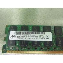 Memoria 4gb 2rx4 Pc2-6400p -555-13-l0 Mt36htf51272pz-80eh1