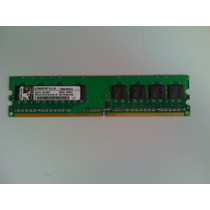 Módulo Memória Kingston 512mb Ddr2-667 Pc2-5300 Original