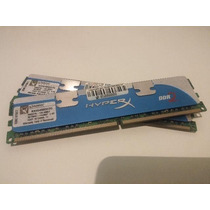 Memórias 2x2gb Kingston Hyper X Ddr2 - 800 Mhz - 4gb Ocz