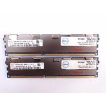 Memoria Dell 16gb Kit 2x8gb Pc3-8500r-7-10-e1 Ecc Buffered