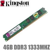 Memória Kingston Ddr3 4gb 1333mhz P/ Desktop Pc ##sp Retira