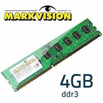 Memória 4gb Ddr3 Markvision 1333mhz Desktop-produto Original