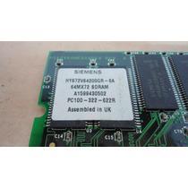 Memoria Hp 128mb Pc100 Cl2 Compaq Proliant Dl580 G1