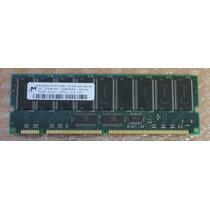 Memoria Micron 512mb Pc133r Ecc 133mhz Dimm Cl3 P/ Servido