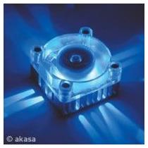 Cooler De Chipset - Ak-210 - Com 3-led´s Na Cor Azul Akasa