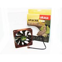 Cooler Fan Ventoinha Akasa Apache 12cm 12v Gabinete Gamer ·