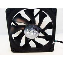 Cooler Gabinete Ventoinha Fan Preto Pro 120mm 12cm