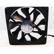 Cooler Fan Ventoinha Akasa Apache Black 12cm 12v Pc Gamer