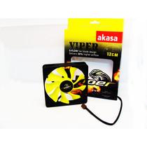 Cooler Fan Ventoinha Akasa Viper 12cm 12v Gabinete Gamer ·