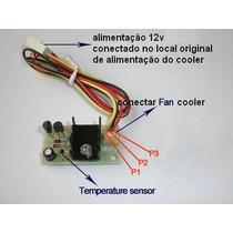 Controlador Cooler Fan / Sensor E Auto Ajuste De Velocidade