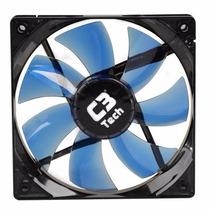 Cooler Fan C3 Tech F7-l100 Bl Storm 12cm Led Azul